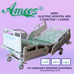 Amoos AE881 - Electric Hospital Bed 3 Function